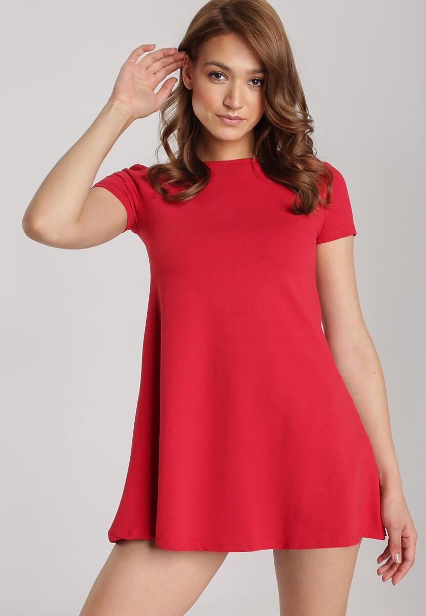 Czerwona Sukienka Eiremere