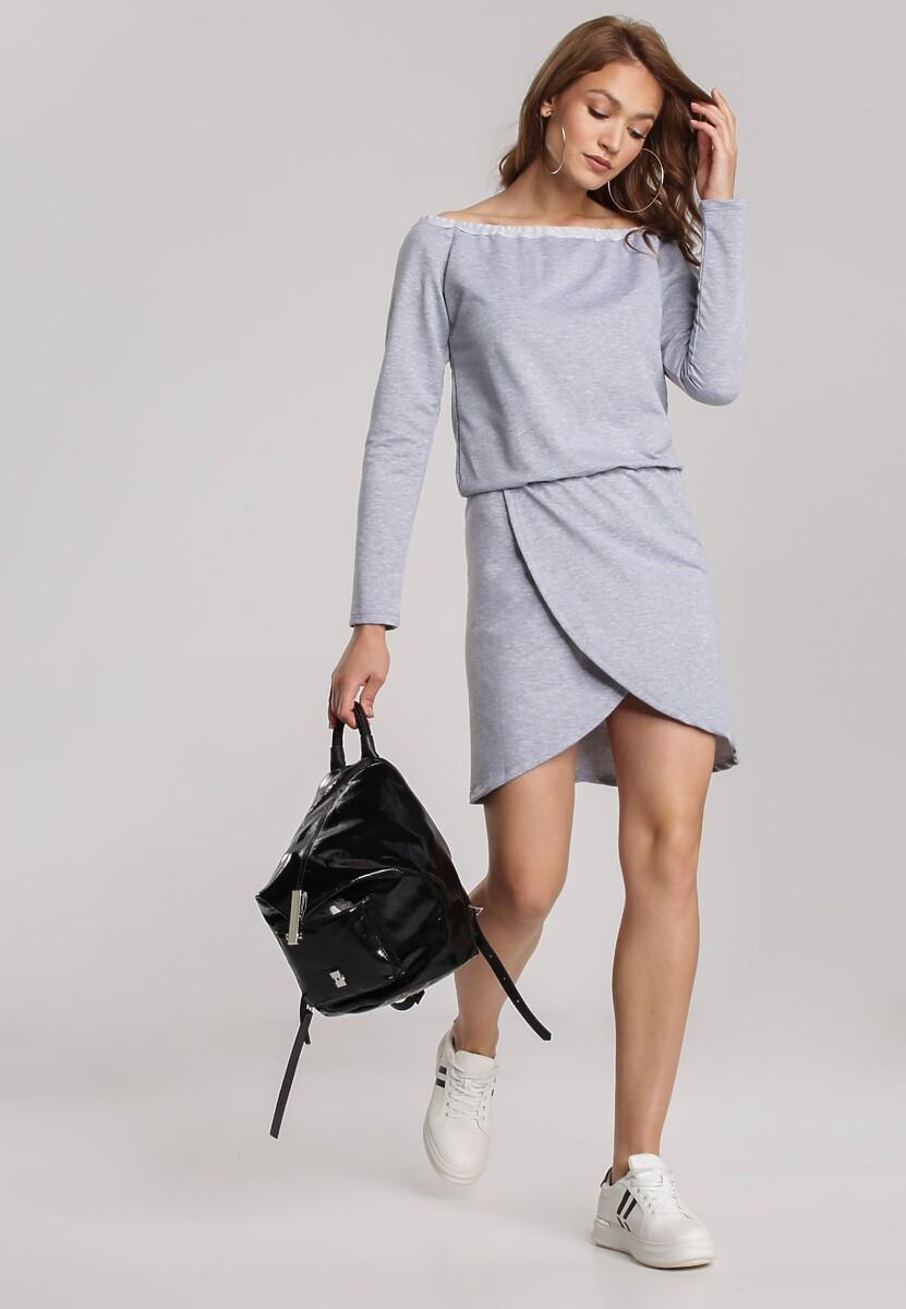 Szara Sukienka Viviany Kod produktu: 121434