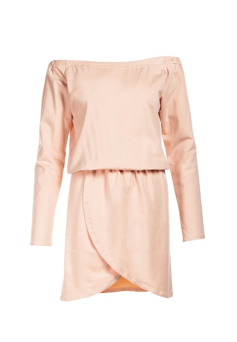 Jasnoróżowa Sukienka Viviany