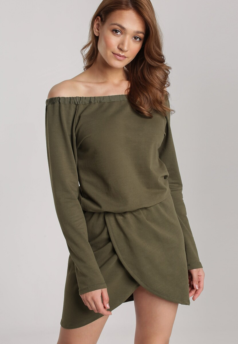 Khaki Sukienka Viviany Kod produktu: 121436
