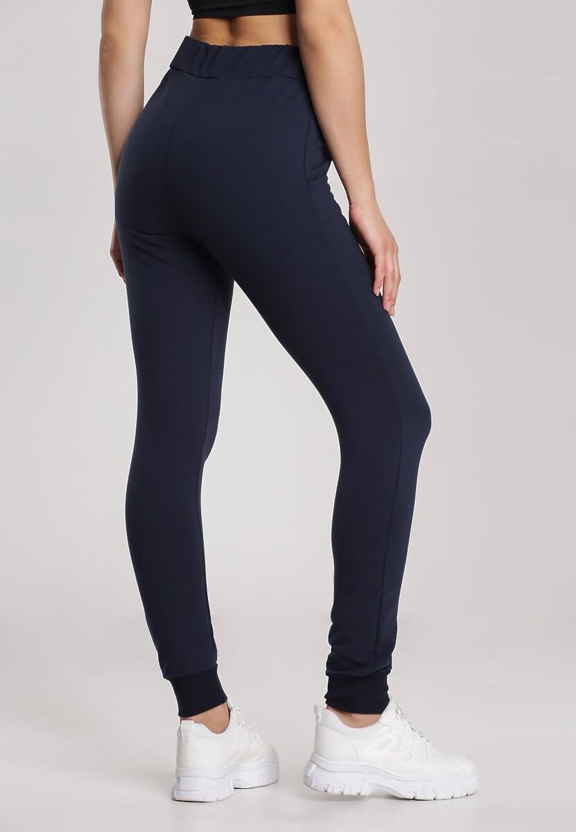 Granatowe Spodnie Undinore