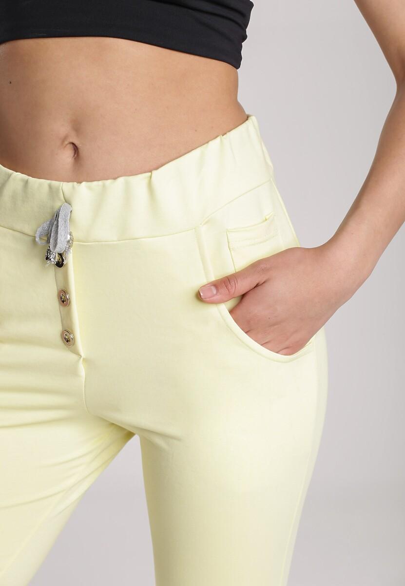 Żółte Spodnie Undinore