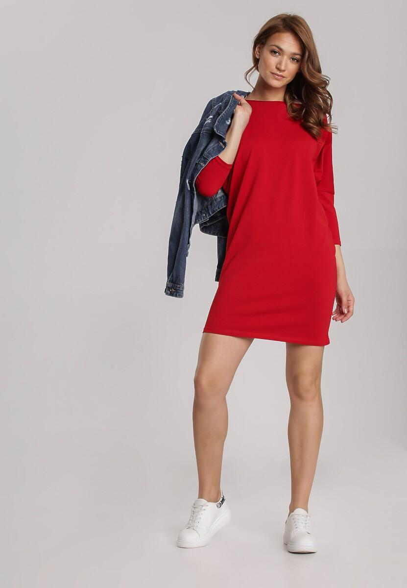 Czerwona Sukienka Dorinoire