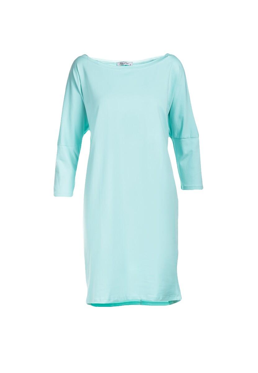 Miętowa Sukienka Dorinoire