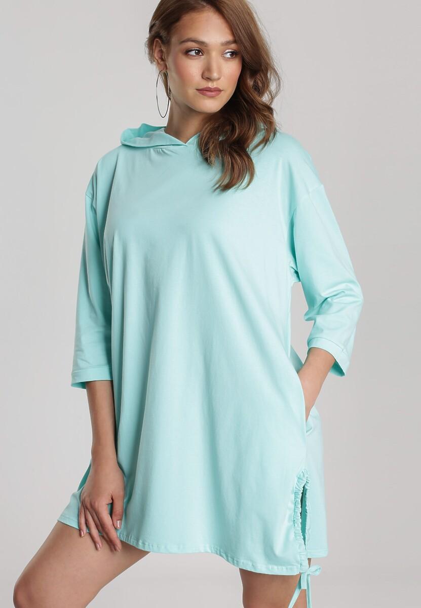 Miętowa Sukienka Sirius Kod produktu: 121501