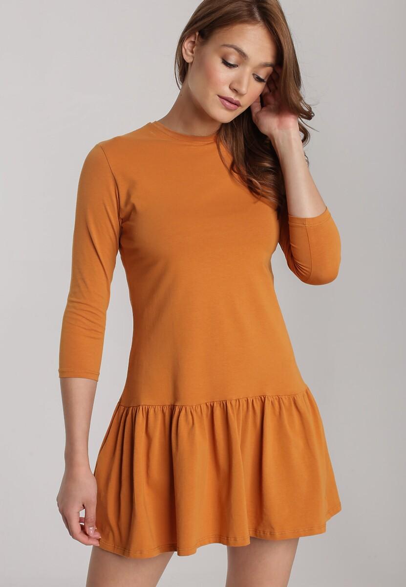 Camelowa Sukienka Lamelirea Kod produktu: 121523