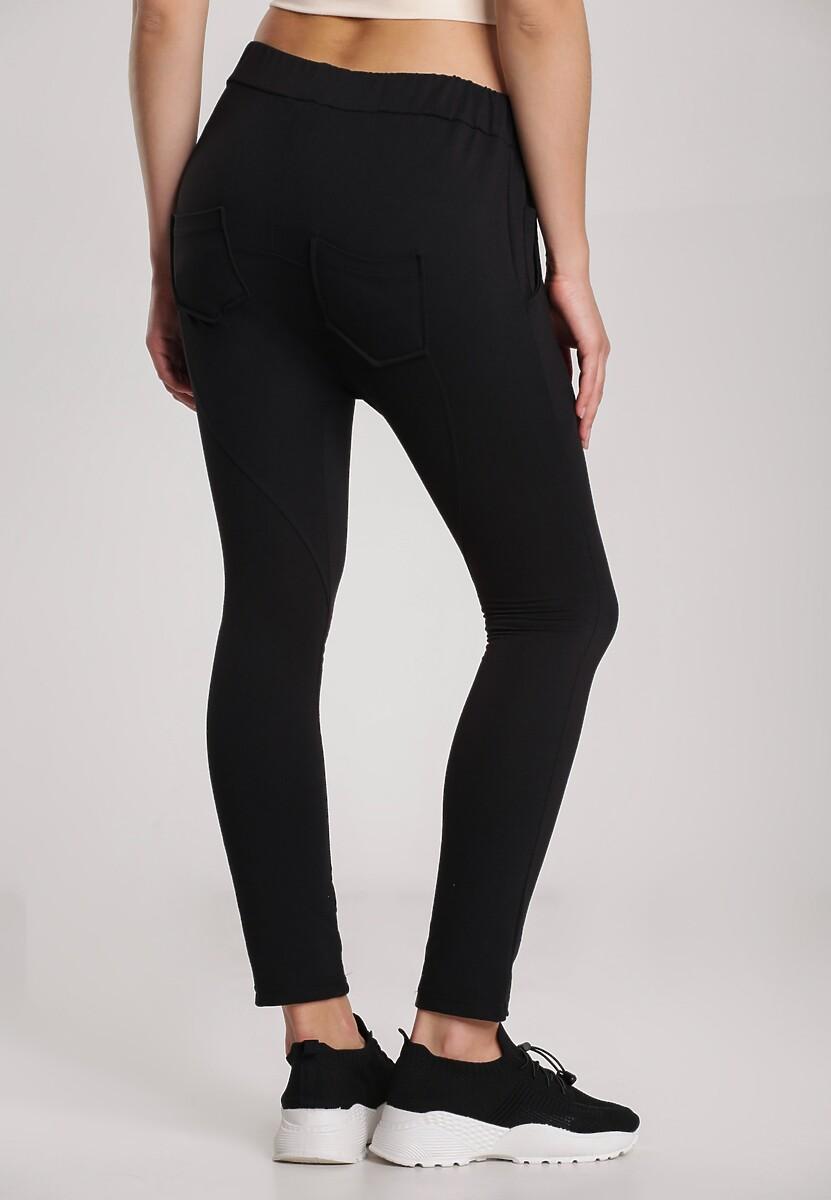 Czarne Spodnie Lorairena
