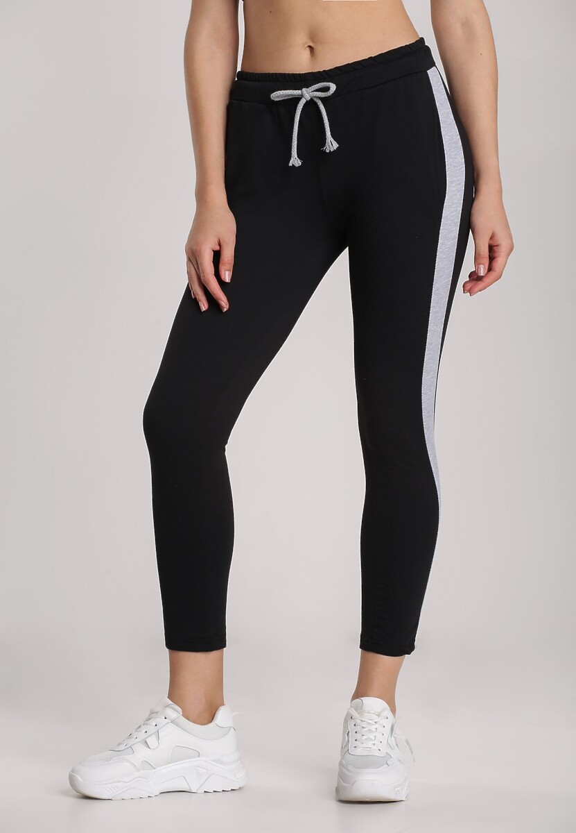 Czarne Spodnie Echoxera