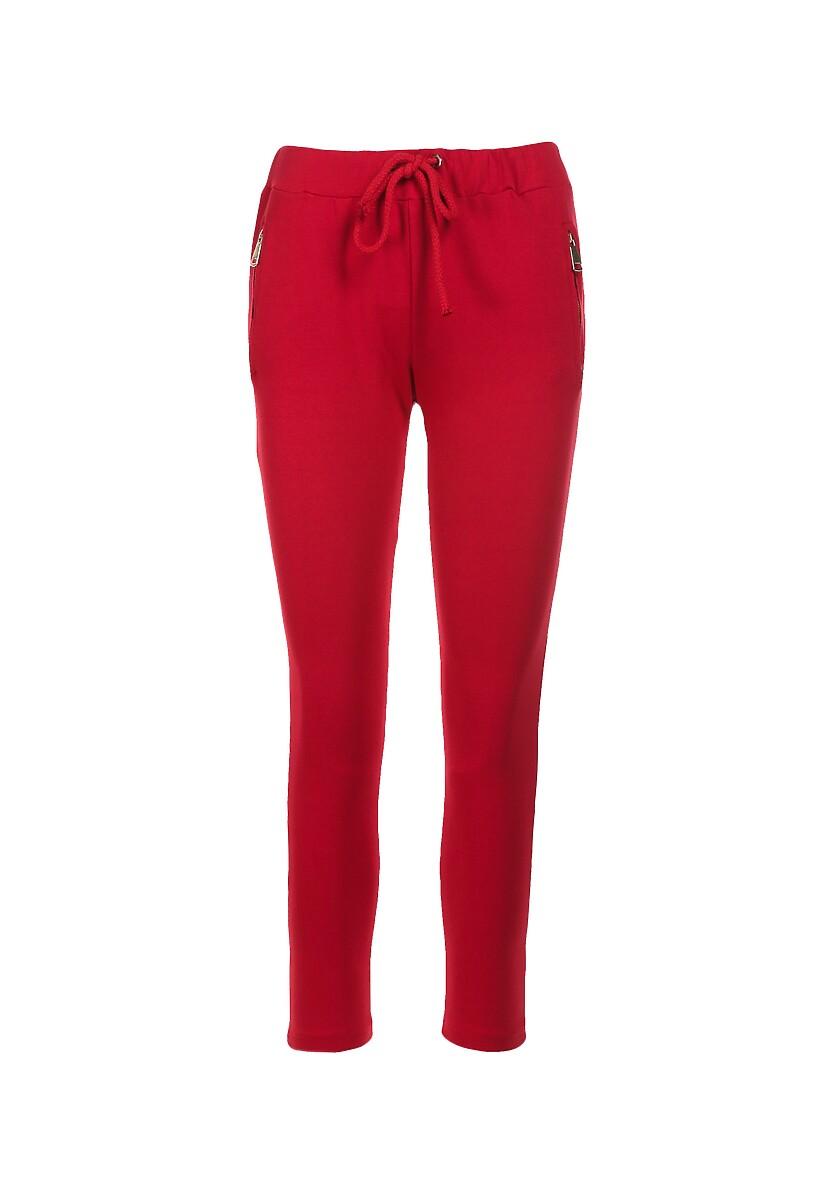Czerwone Spodnie Aglaxera