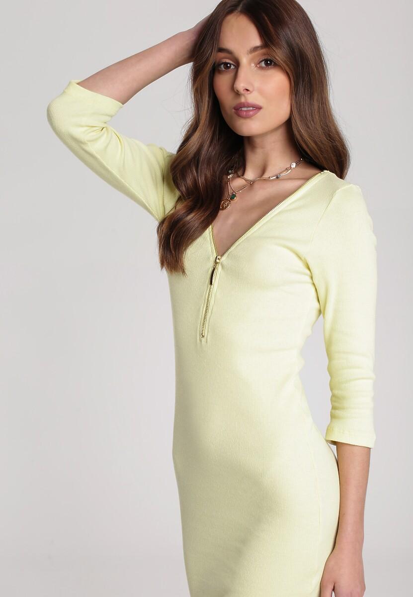 Żółta Sukienka Antaris