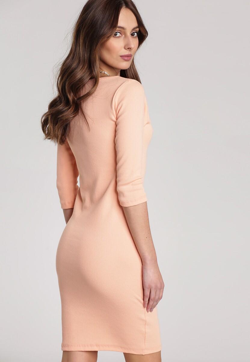 Łososiowa Sukienka Antaris