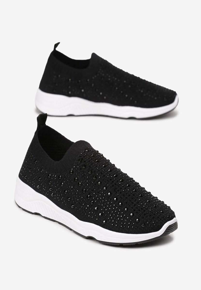 Czarne Sneakersy Kylora