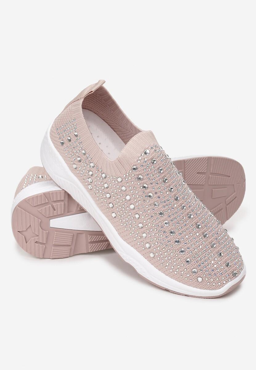 Beżowe Sneakersy Kylora