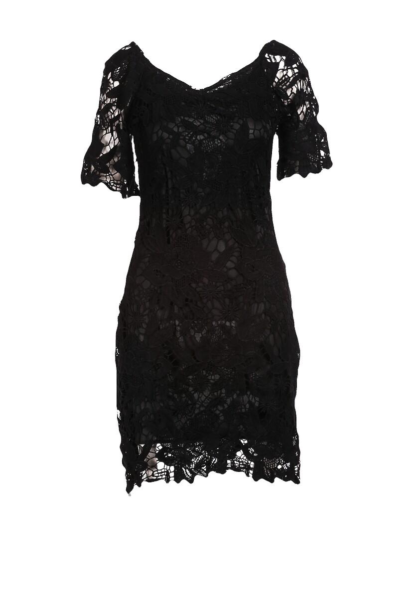 Czarna Sukienka Alusana