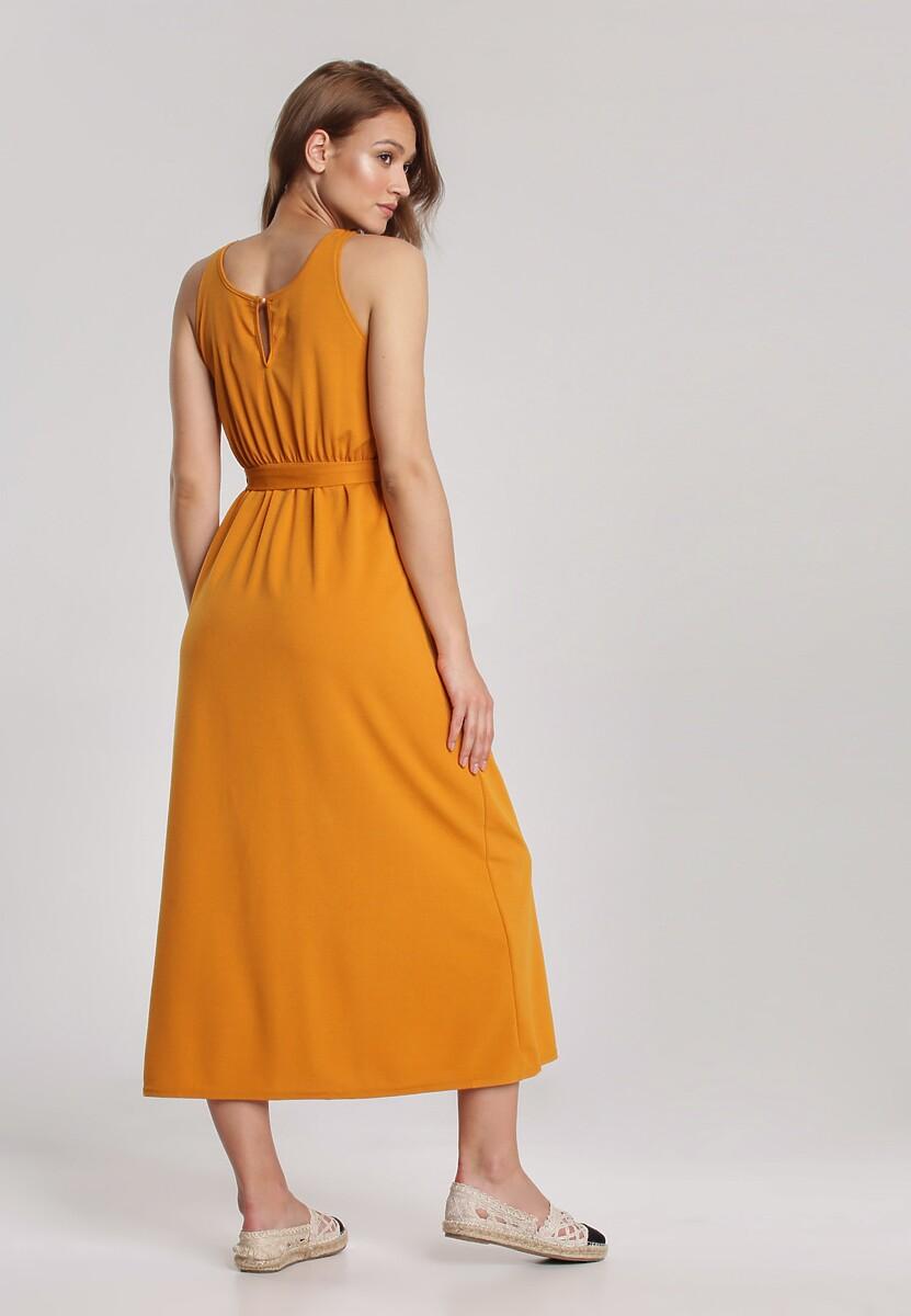 Żółta Sukienka Parphaeia