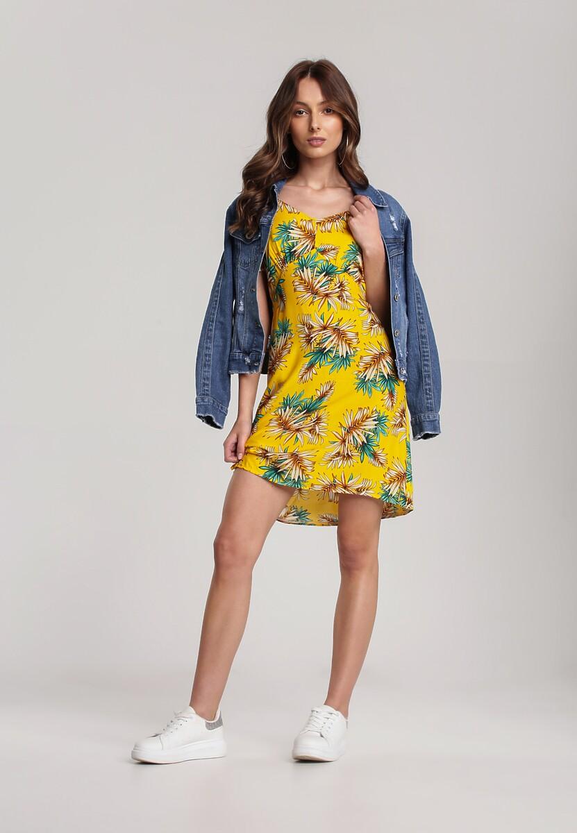 Żółta Sukienka Alamea