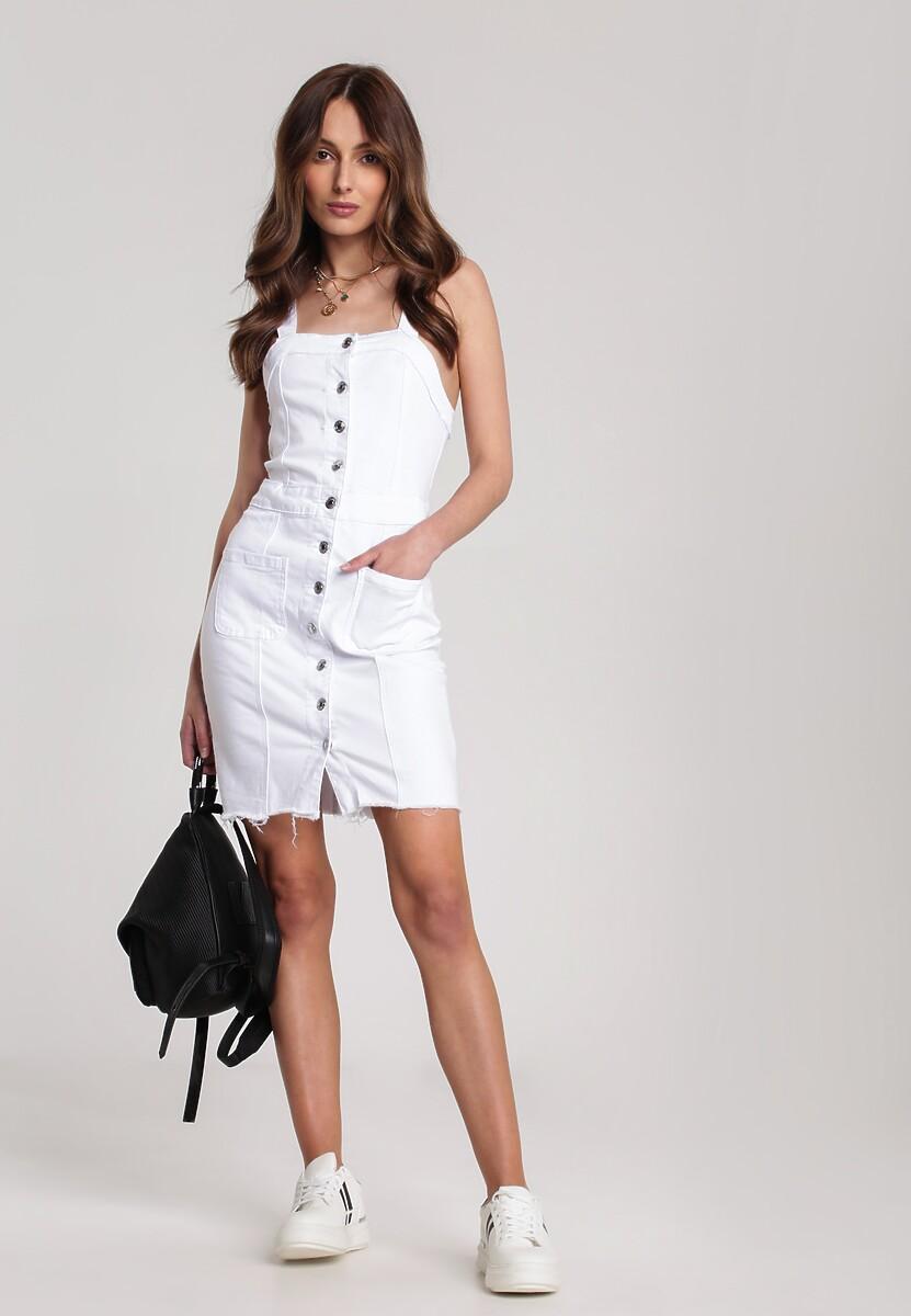 Biała Sukienka Kelalyse
