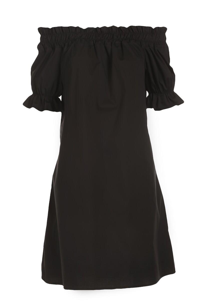 Czarna Sukienka Clyliana