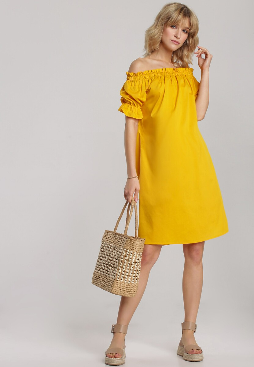 Żółta Sukienka Clyliana