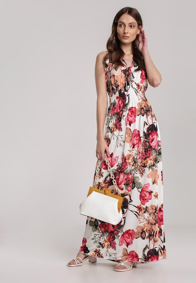 Biała Sukienka Tenisse