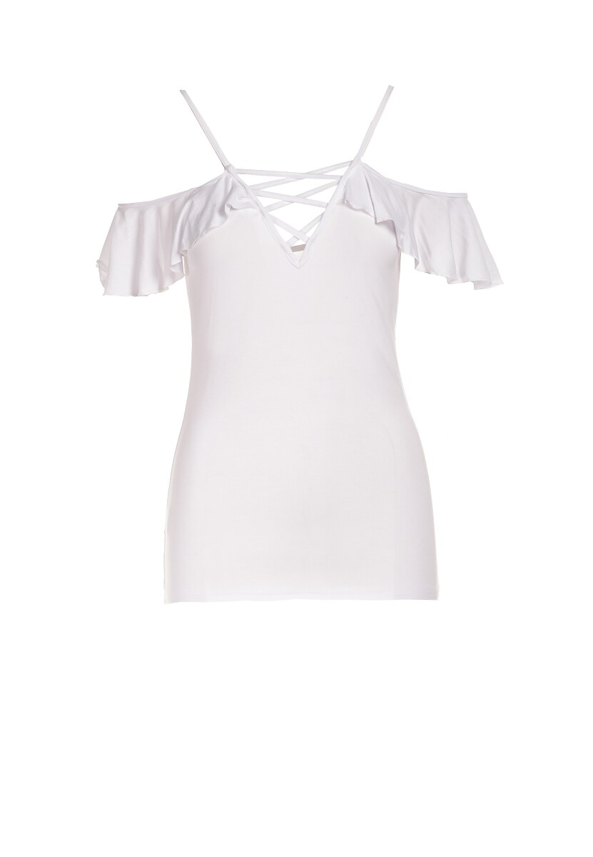 Biała Bluzka Pherosea
