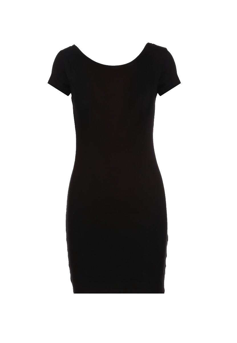 Czarna Sukienka Diophaia