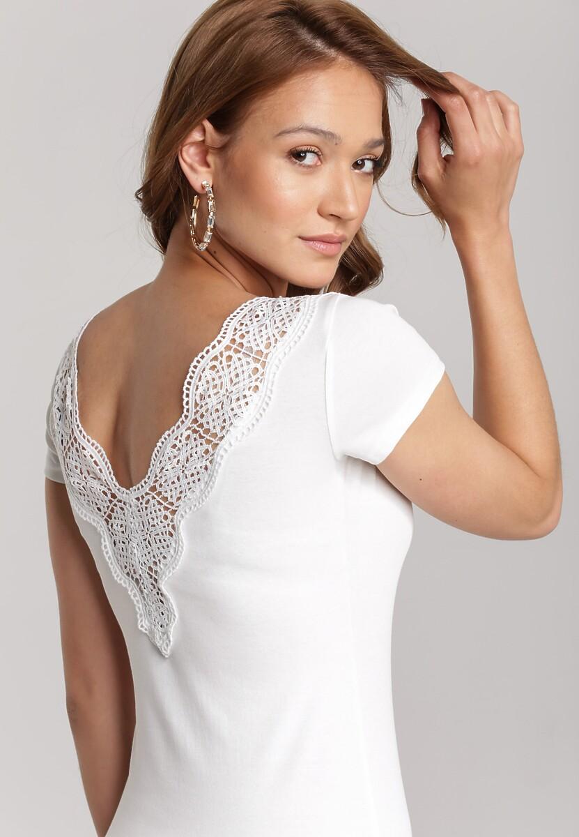 Biała Sukienka Diophaia