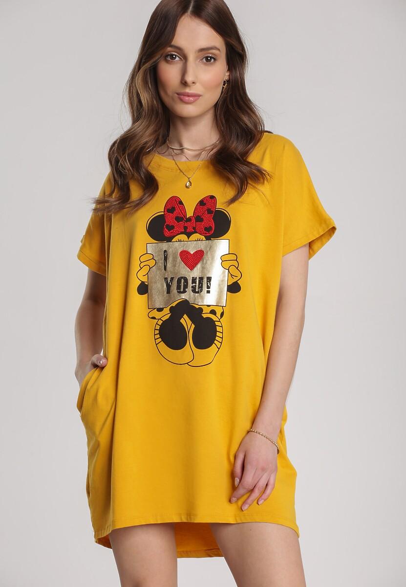 Żółty T-shirt Pericine