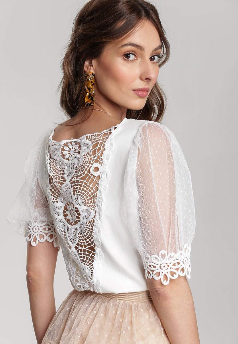 Biała Bluzka Kyssa