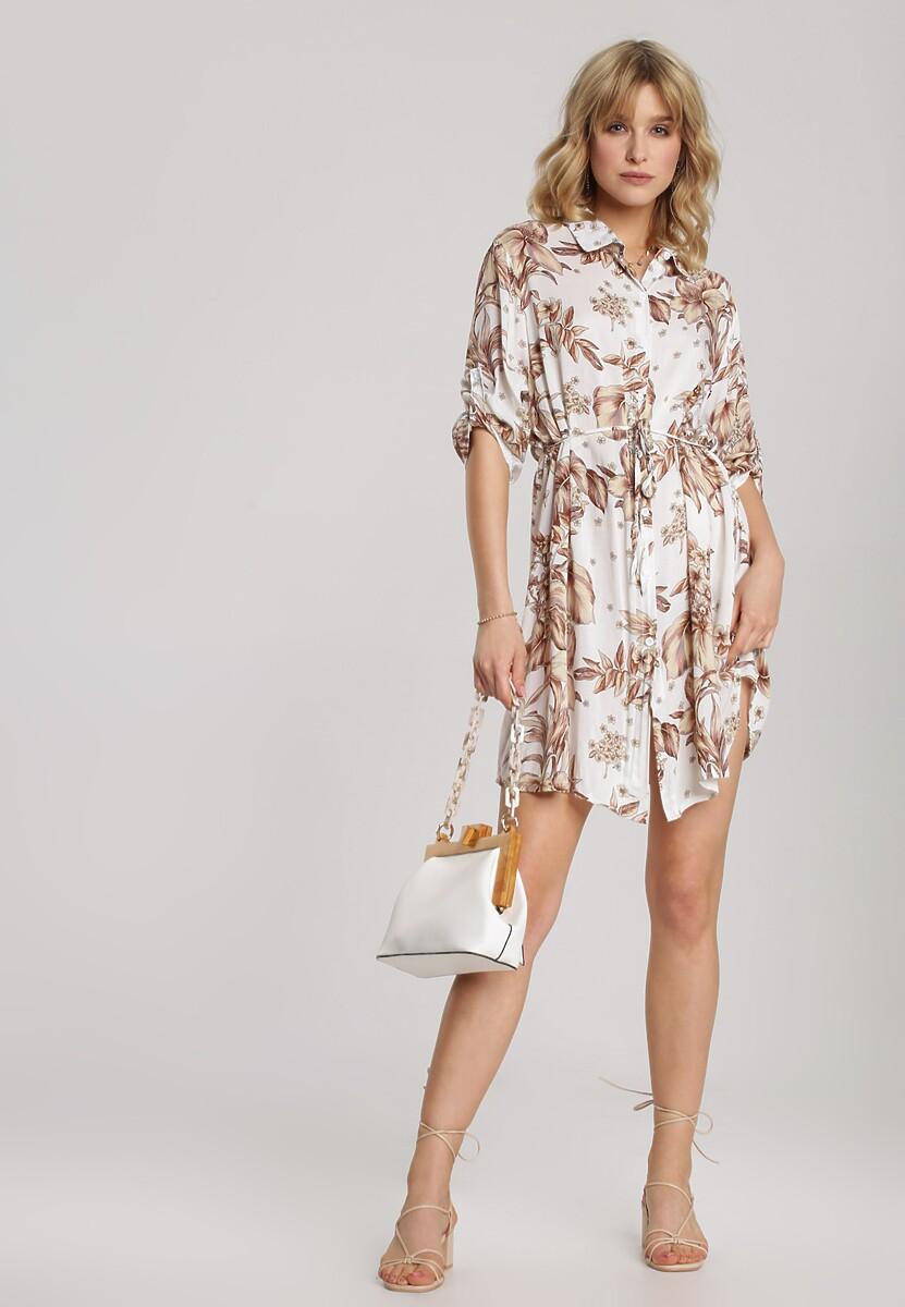 Biała Sukienka Noelila