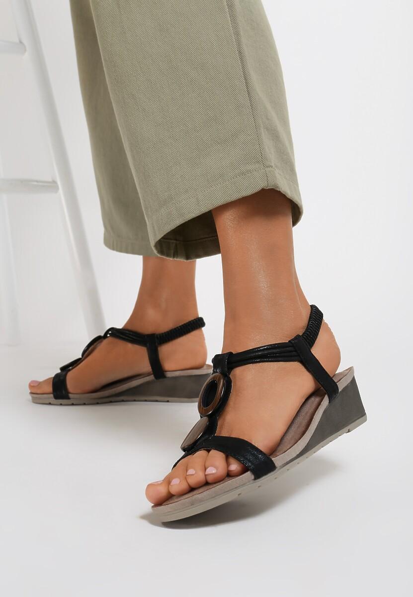 Czarne Sandały Ceyonne Kod produktu: 122677