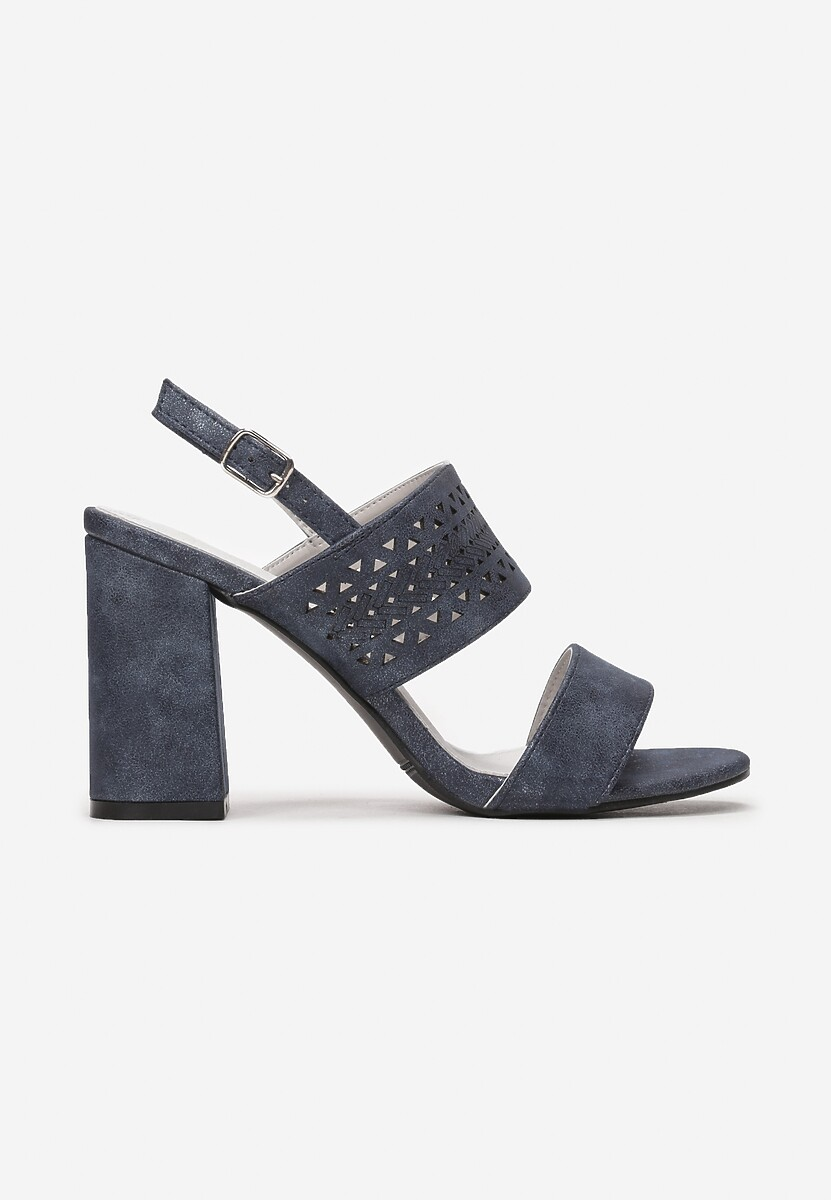 Granatowe Sandały Adriabelle