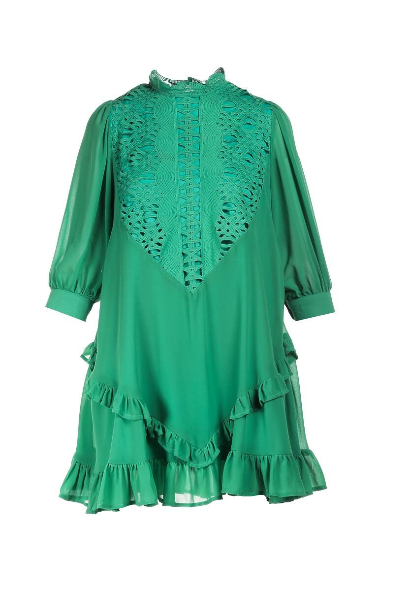 Zielona Sukienka Aqearea