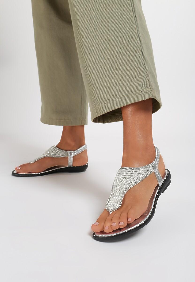 Srebrne Sandały Ronna