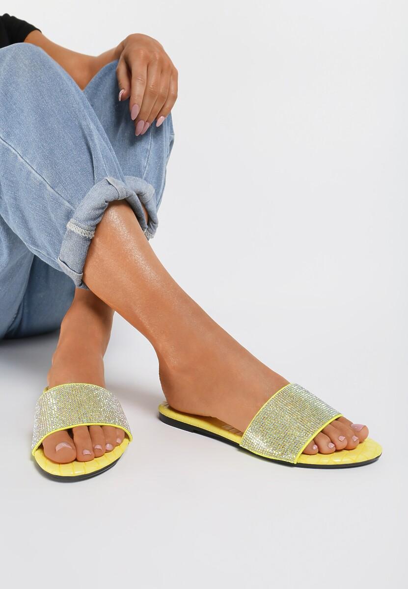 Żółte Klapki Helene Kod produktu: 122902