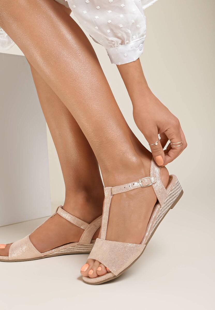 Różowe Sandały Maedalyn