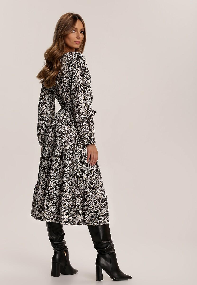 Czarna Sukienka Aquithea