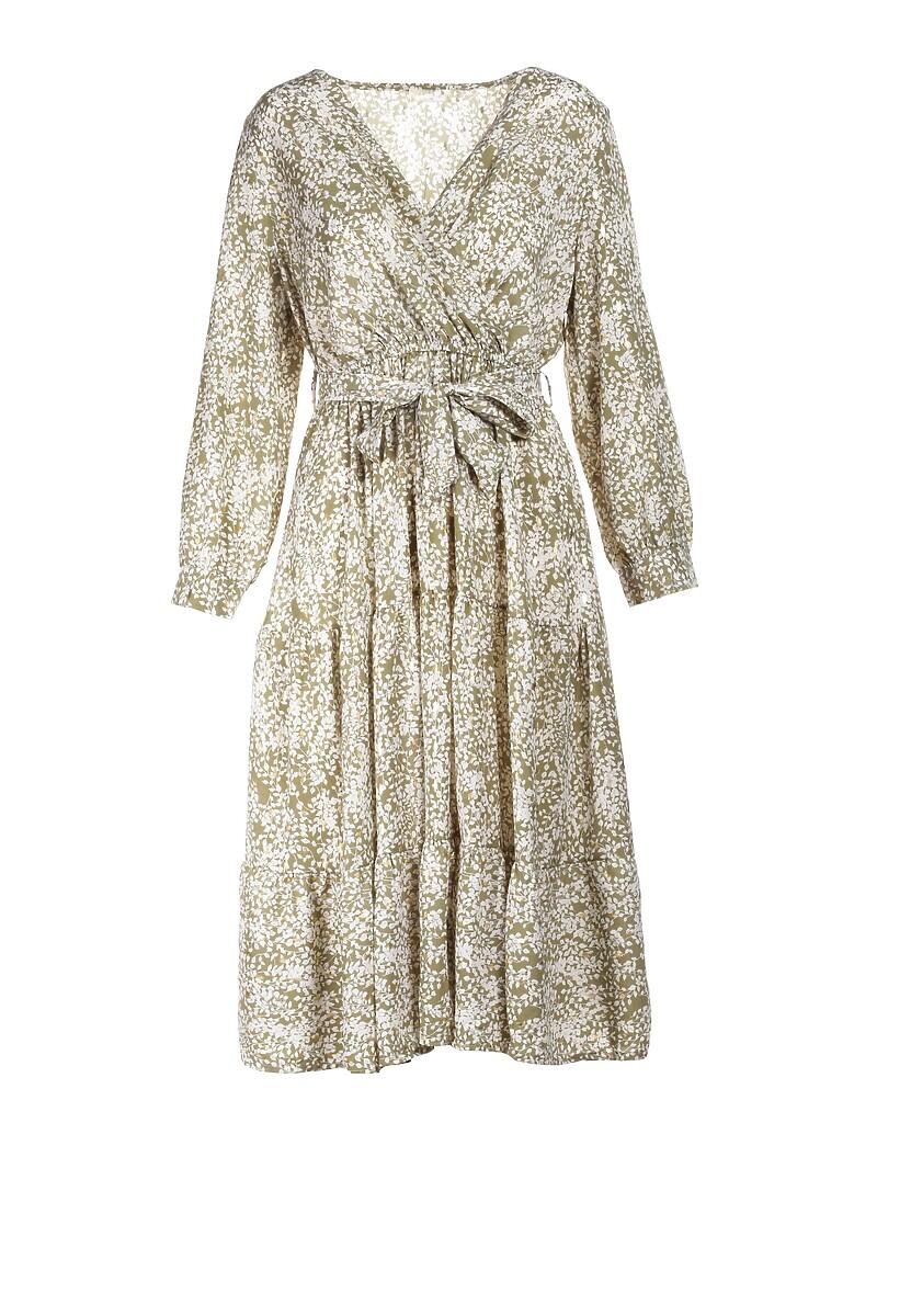Jasnozielona Sukienka Aquithea