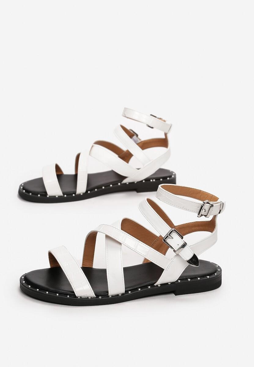 Białe Sandały Jenyssa