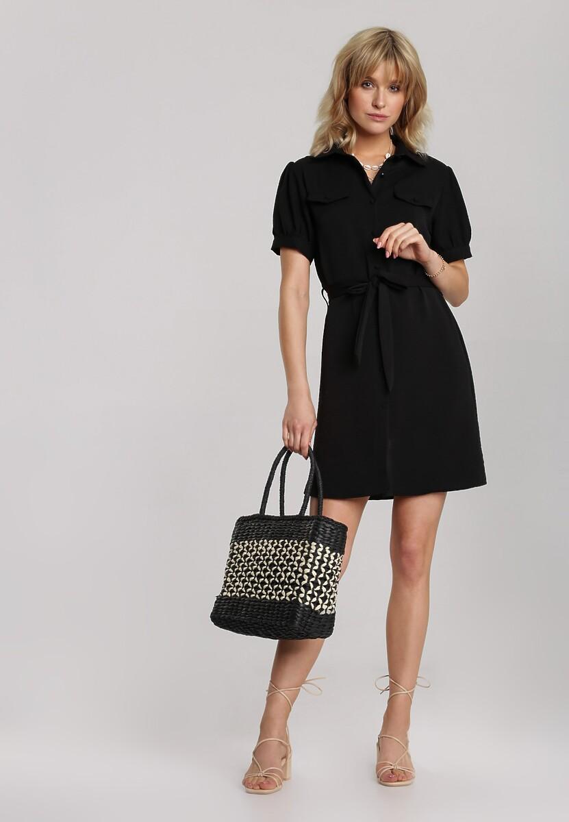 Czarna Sukienka Thalasea