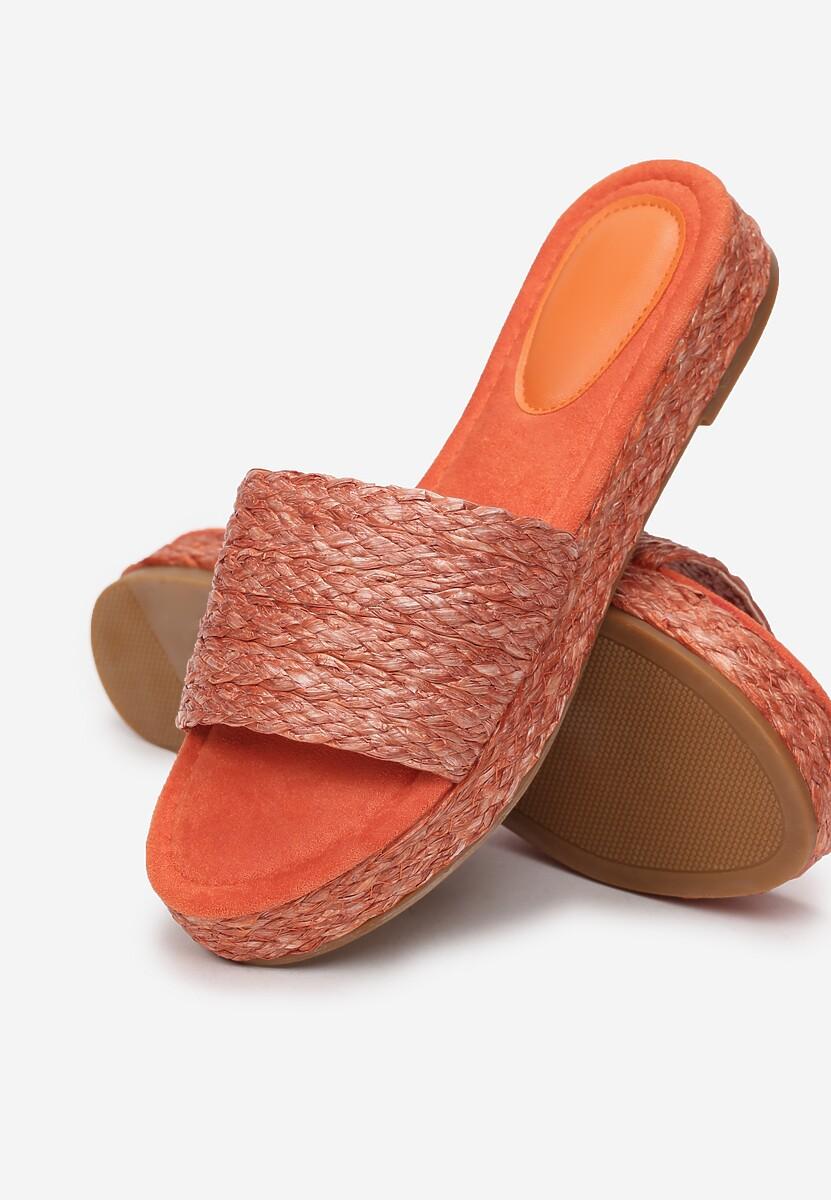 Pomarańczowe Klapki Alphecca