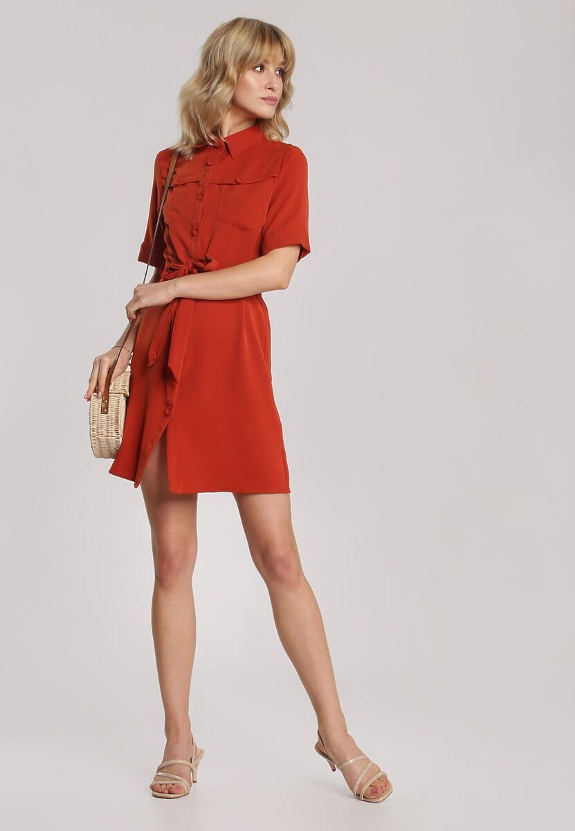 Czerwona Sukienka Eathewen
