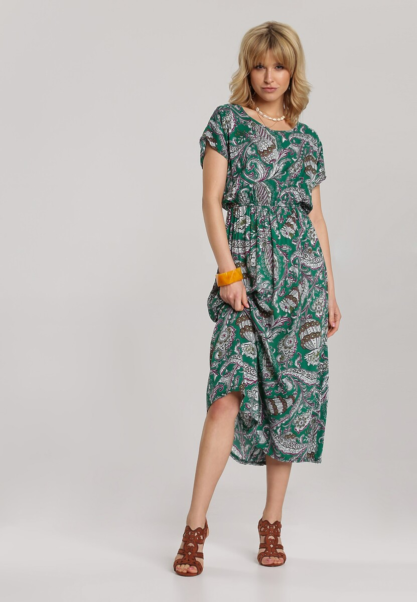 Zielona Sukienka Guinerin