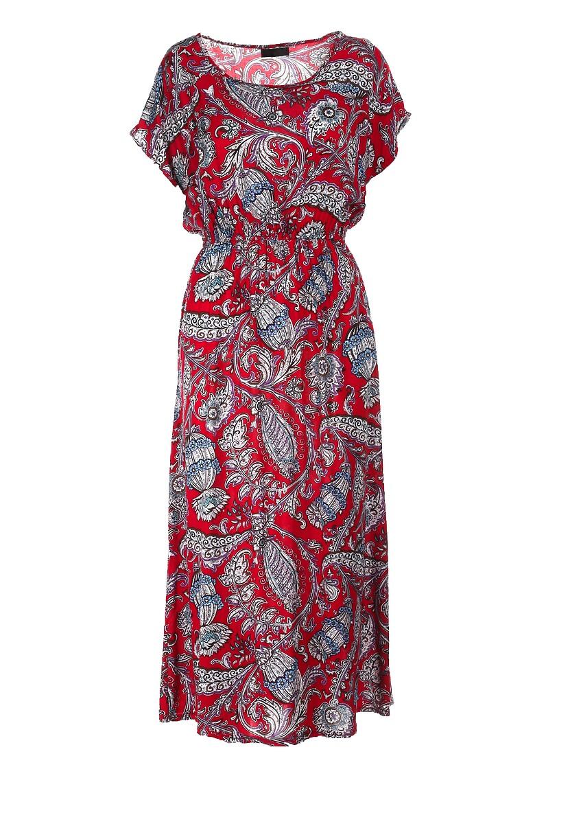 Czerwona Sukienka Guinerin