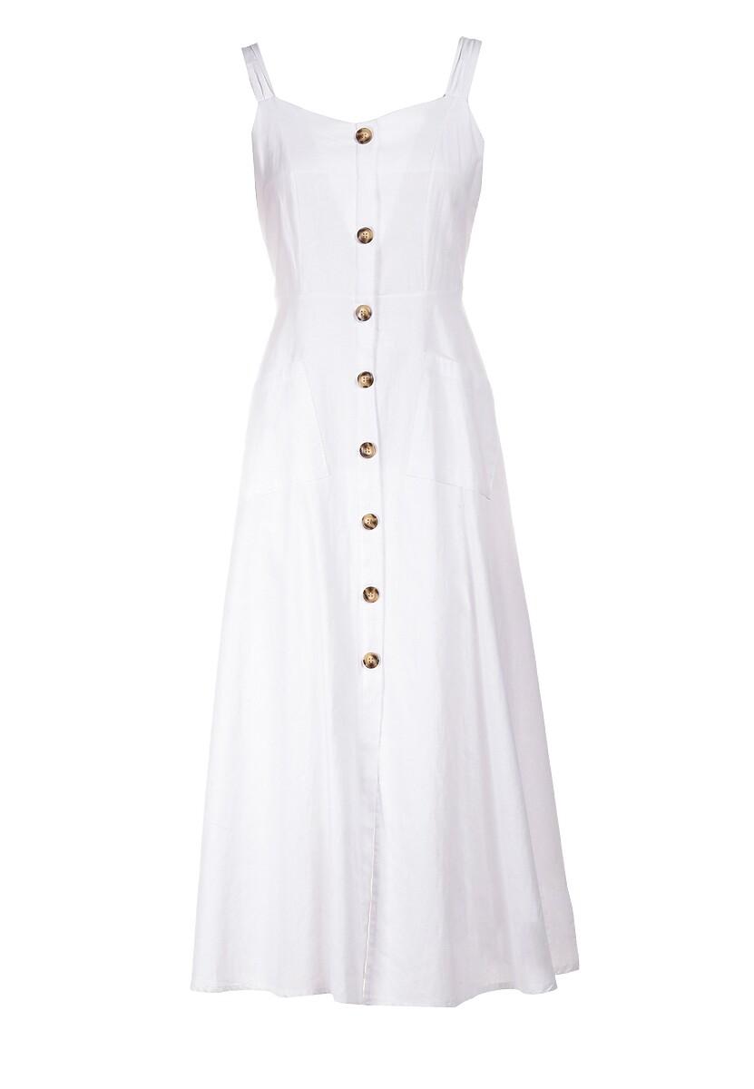 Biała Sukienka Arriethea