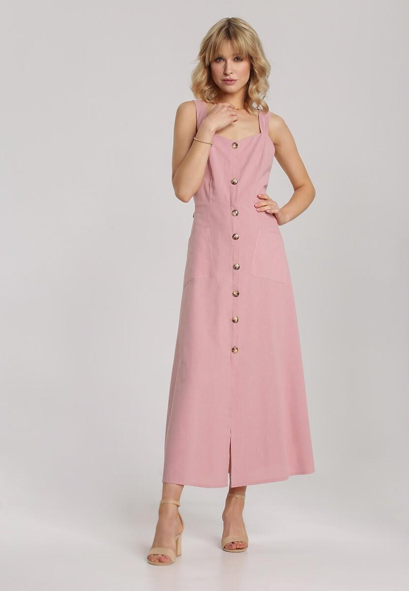 Różowa Sukienka Arriethea