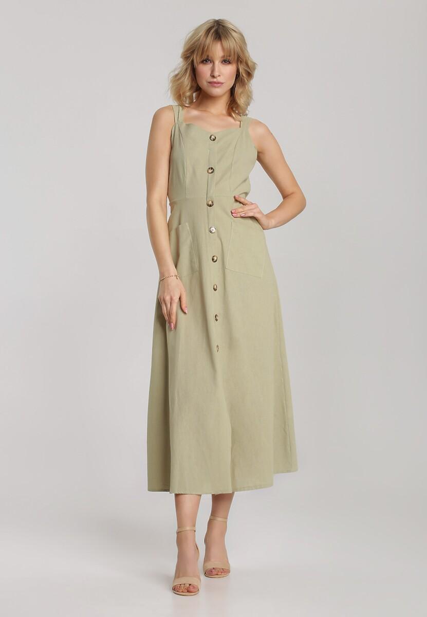 Jasnozielona Sukienka Arriethea
