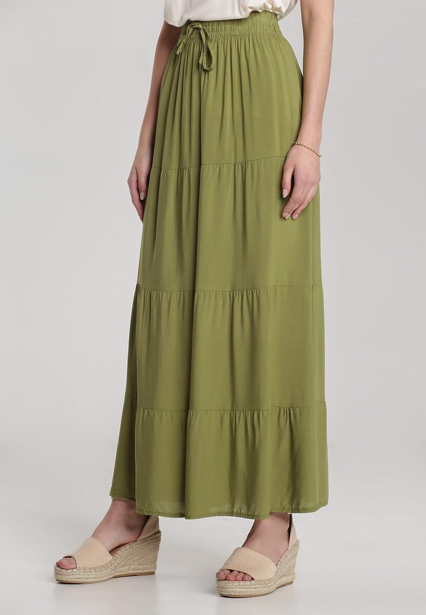 Zielona Spódnica Calothise