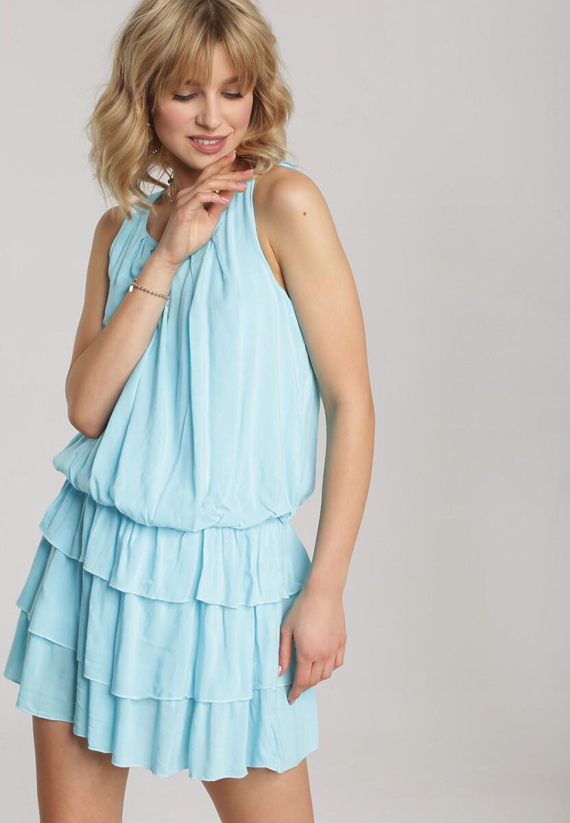 Jasnoniebieska Sukienka Talimora