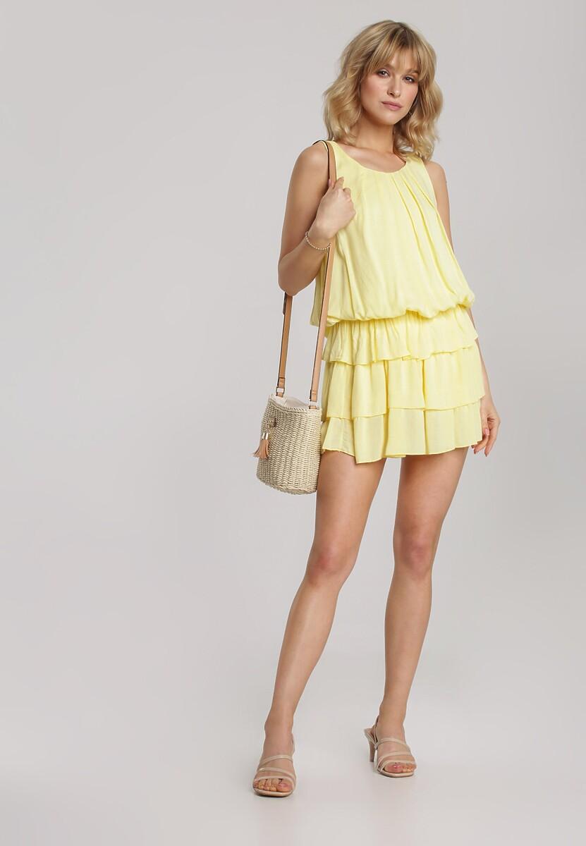 Żółta Sukienka Talimora